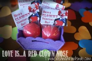 Clown Valentine